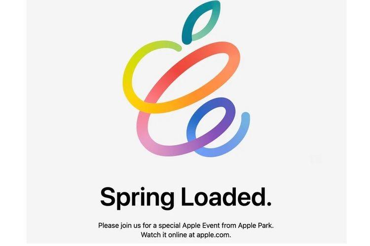Apple Event bertajuk Spring Loaded