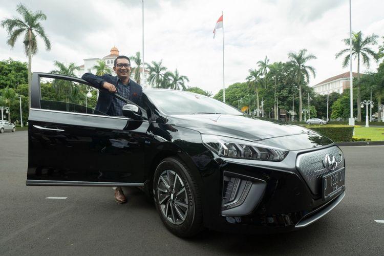 Ridwan Kamil bakal memakai Hyundai Ioniq dan Kona EV sebagai mobil dinas Pemerintah Provinsi Jawa Barat.