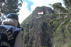 Peringati Sumpah Pemuda, 9 Pemanjat dari Aceh hingga Papua Kibarkan Merah Putih di Tebing Tertinggi Jatim