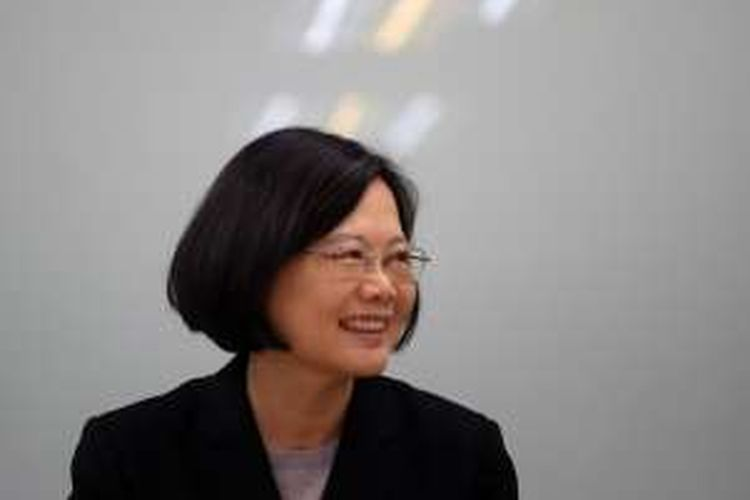 Tsai Ing-wen, presiden perempuan pertama Taiwan.