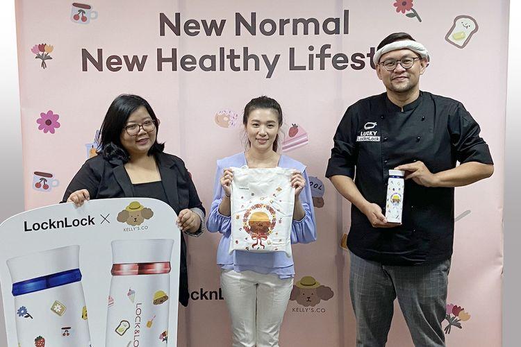 LocknLock bekerja sama dengan Chef Lucky Andreono dan Kellys.co meluncurkan kampanye New Normal New Healthy Lifestyle.
