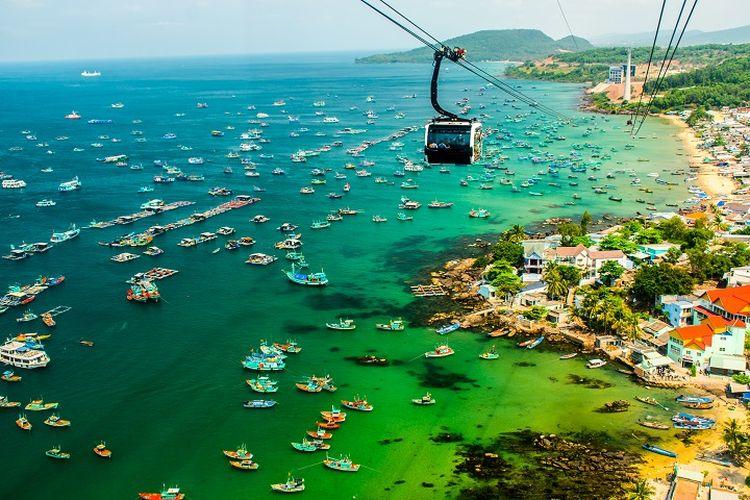 Ilustrasi Vietnam - Salah satu destinasi wisata di Vietnam bernama Pulau Phu Quoc.