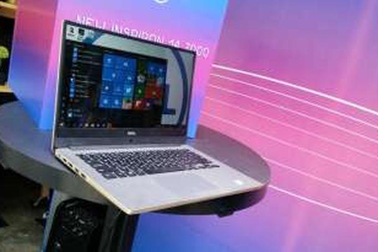 Laptop Dell Inspiron 14 7000 resmi dipasarkan di Indonesia dengan banderol mulai Rp 12 juta.