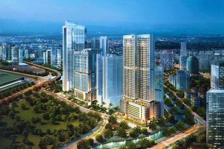 Apartemen Newton 2 di Ciputra World 2 Jakarta.
