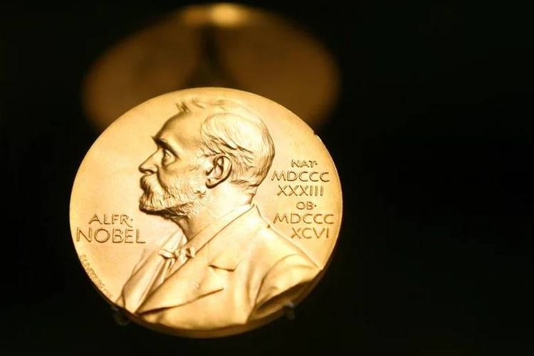 Emas pada Penghargaan Nobel