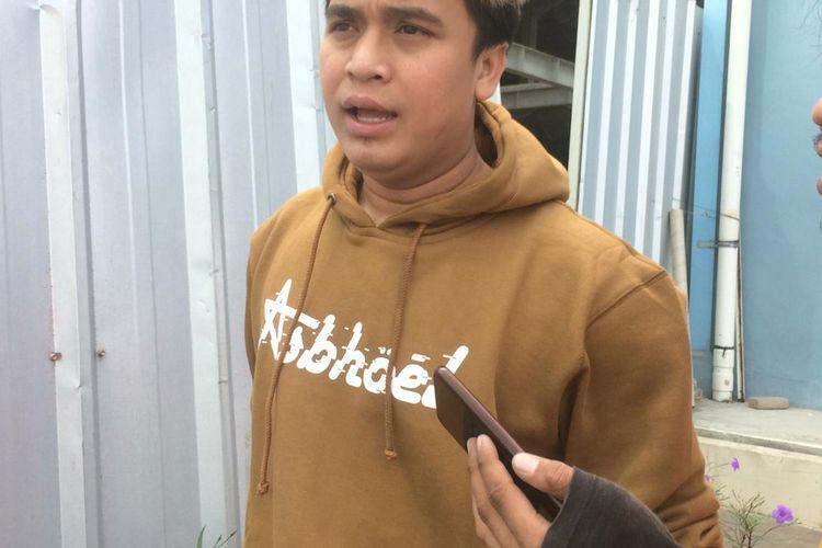 Billy Syahputra saat ditemui di kawasan Tendean, Jakarta Selatan, Jumat (14/6/2019).