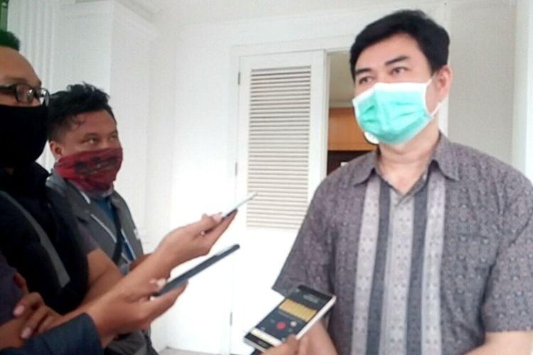 Juru Bicara Satuan Tugas Percepatan Penanganan Covid-19 Kabupaten Cianjur Yusman Faisal