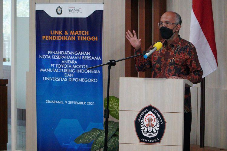 PT Toyota Motor Manufacturing Indonesia (TMMIN) turut berpartisipasi aktif menjembatani pengembangan potensi SDM nasional, guna membentuk sebuah ekosistem, manajemen riset, pengembangan inovasi dan teknologi dalam kurikulum pendidikan di Tanah Air.