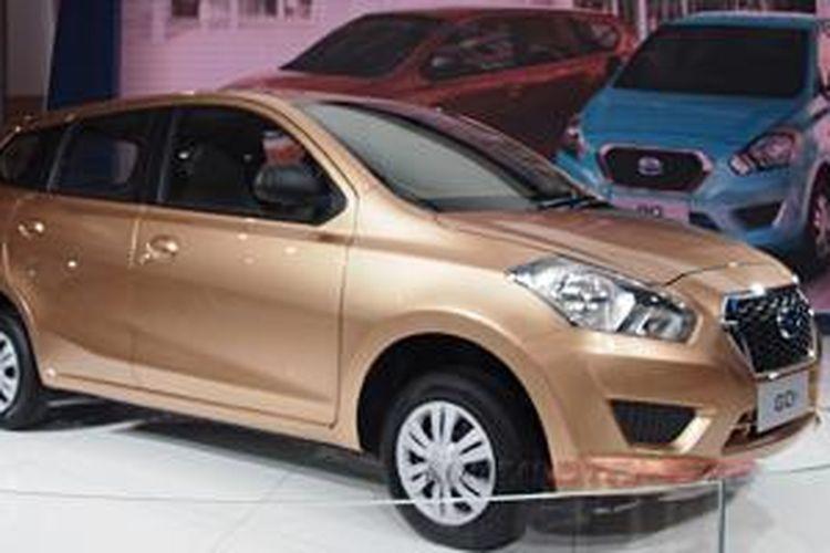 Dua andalan Datsun tahun ini, Go untuk hatchback dan Go   untuk MPV 7-penumpang