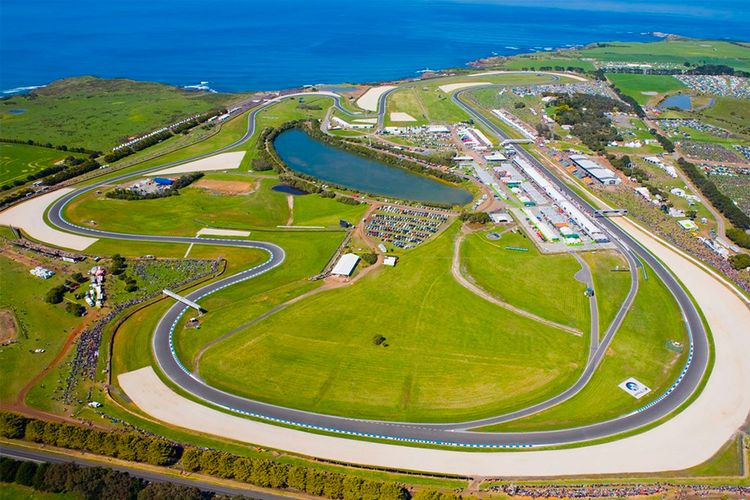 Philip Island Grand Prix Circuit.