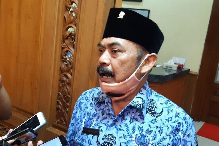 Ketua DPC PDI-P Solo yang juga Wali Kota Solo, FX Hadi Rudyatmo.