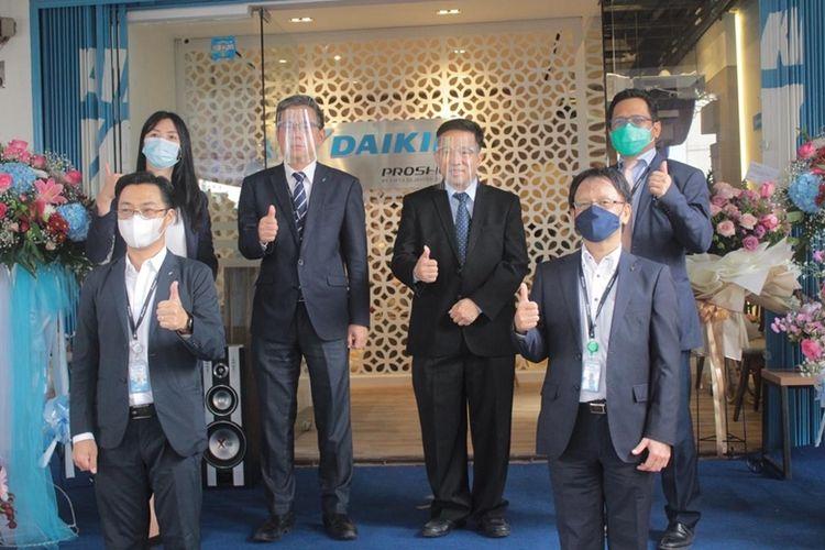 Showroom Daikin Proshop hadir dengan konsep experience zone untuk memberikan keleluasaan kepada konsumen.