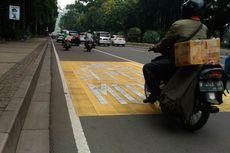 Kanalisasi Sepeda Motor Sudah Berlaku di Jalan Sudirman-Thamrin