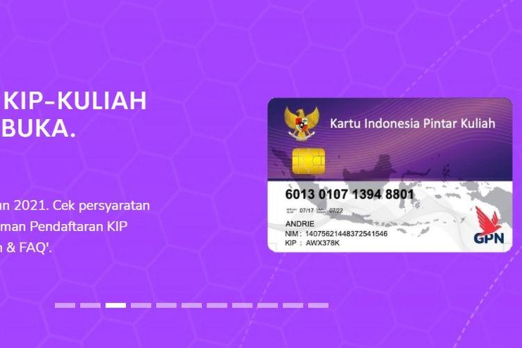 KIP Kuliah SBMPTN 2021