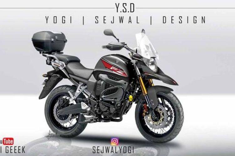 Yamaha ajukan merek dagang baru bernama Yamaha FZ-X.