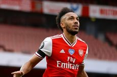 Arsenal Vs Newcastle, Perut Mulas Bikin Aubameyang Gagal Hattrick