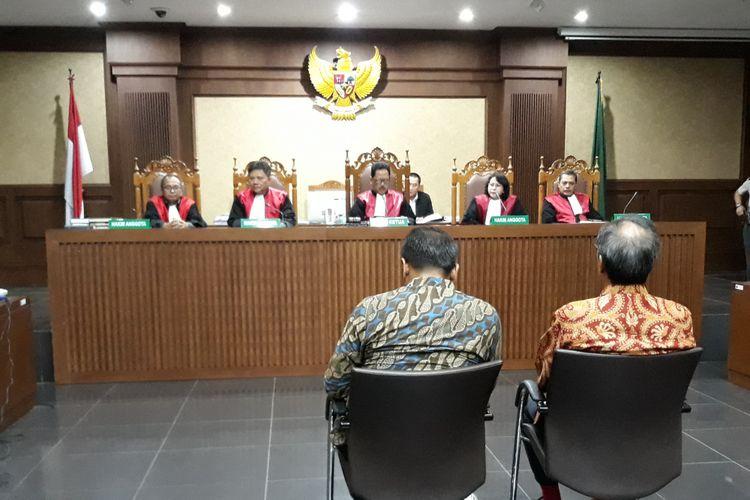 Irvanto Hendra Pambudi dan Made Oka Masagung diadili di Pengadilan Tipikor Jakarta, Senin (30/7/2018).