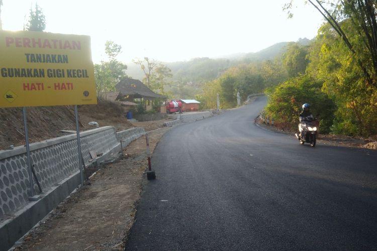 Jalur Mangunan Dlingo, Bantul