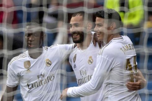 Real Madrid Vs Levante, Benzema Cetak 2 Gol, Madrid Menang