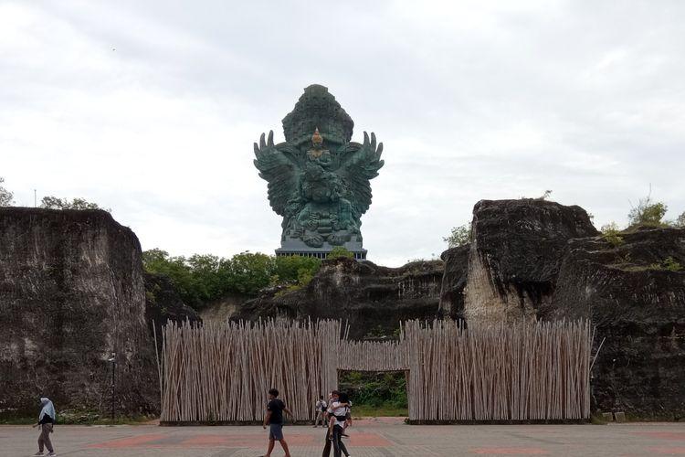 Obyek wisata Garuda Wisnu Kencana di Badung, Bali.