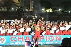 Jateng Terbaik di Liga Berjenjang U-14 Piala Menpora 2019