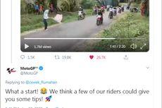 Kisah di Balik Viral Video Parodi Balapan yang Dikomentari Akun Resmi MotoGP
