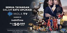 Kerja Sama dengan Mola TV, Indihome Hadirkan Tayangan Unggulan