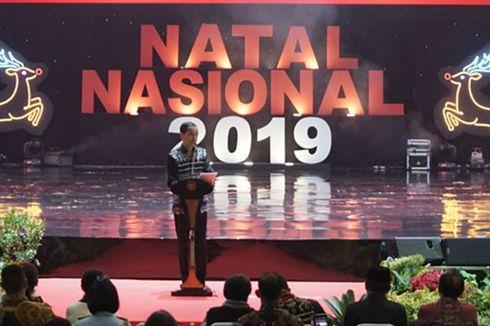 Pesan Jokowi untuk Indonesia Saat Hadiri Perayaan Natal Nasional 2019