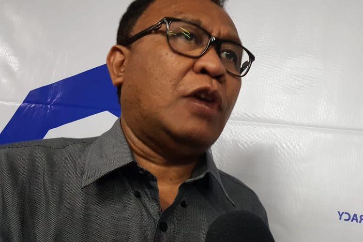 Ketua PGI Albertus Patty saat ditemui di kawasan Cikini, Jakarta Pusat, Minggu (15/9/2019).