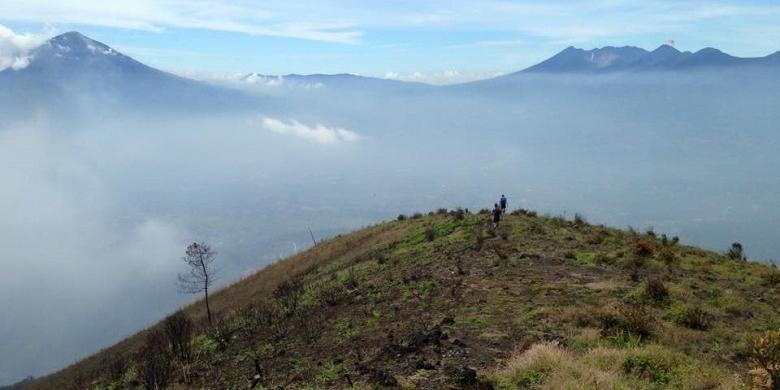 Trail Running di Gunung Guntur