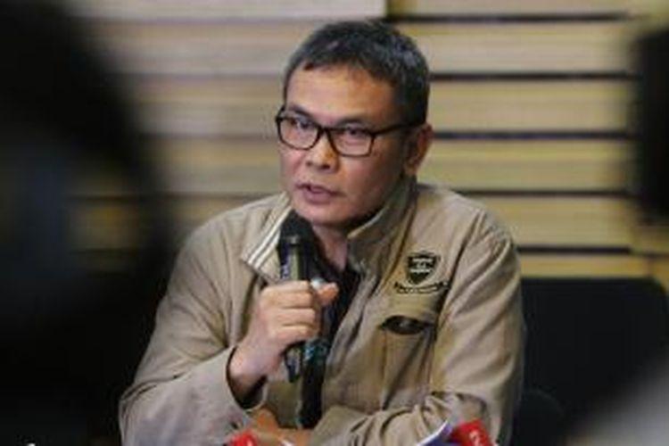 Plt Pimpinan KPK Johan Budi.