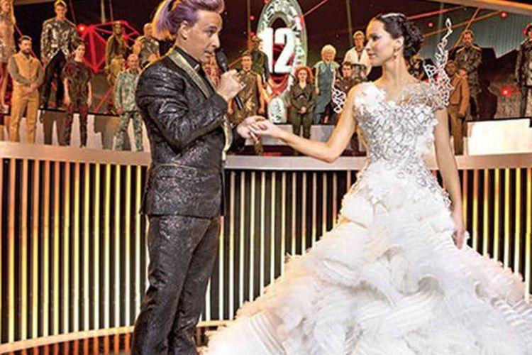 Salah satu adegan dalam The Hunger Games:Catching Fire