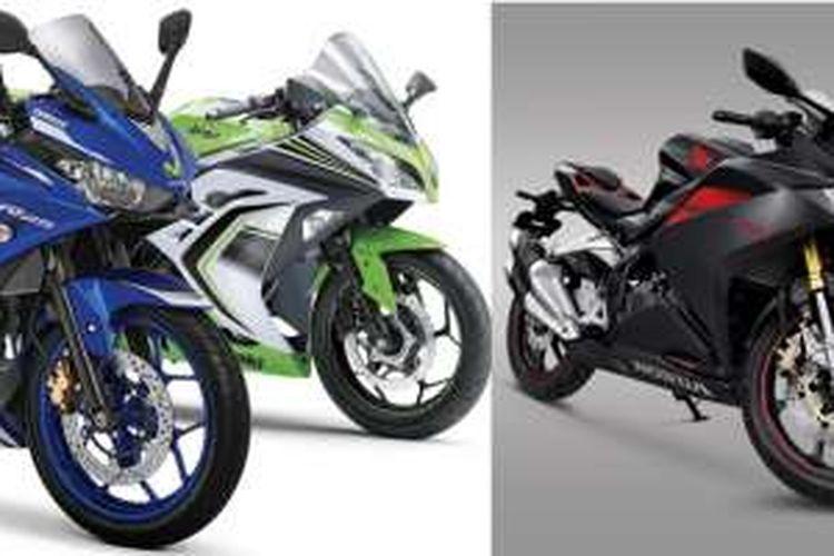 Perang Harga Cbr250rr Ninja 250 Dan Yamaha R25 Halaman All