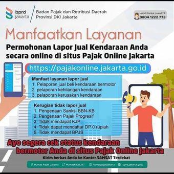 Layanan Lapor Jual Kendaraan Secara Online