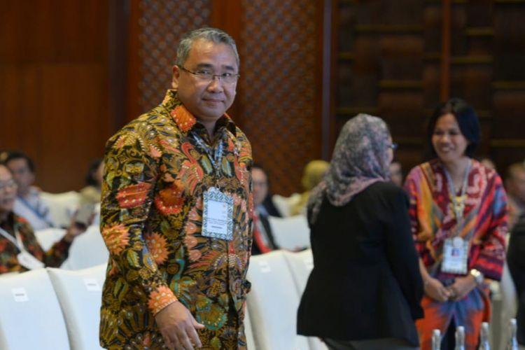 Mendes PDTT Eko Putro Sandjojo dalam Forum Tri Hita Karana (THK) Sustainable Development, Kamis (11/10/2018).