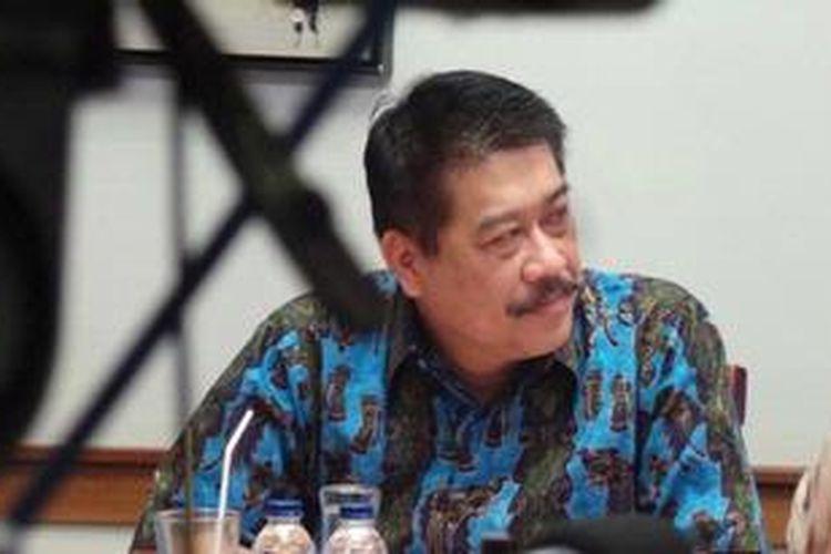 Wakil Ketua Pusat Pelaporan dan Analisis Transaksi Keuangan Agus Santoso