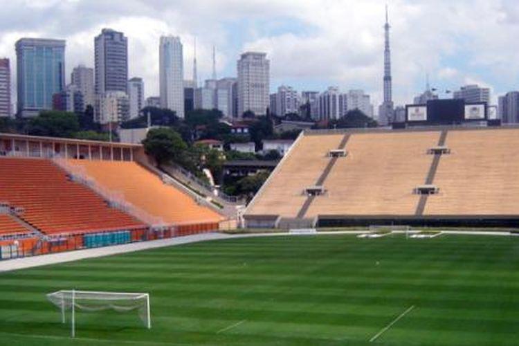 Stadion Pacaembu, Sao Paulo, Brazil