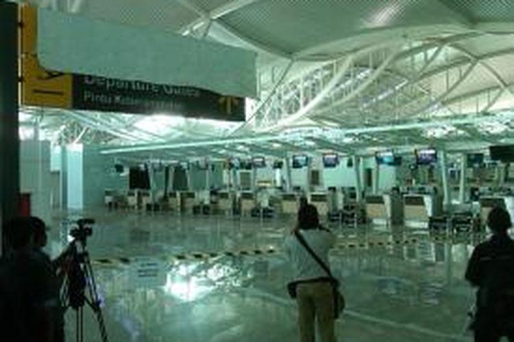 Terminal penumpang Bandara Ngurah Rai Bali