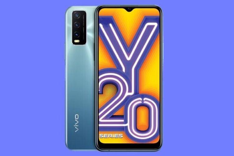 Vivo memperkenalkan smartphone terbarunya, Y20G