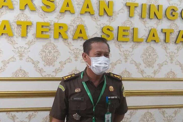 Kasi Penkum Kejaksaan Tinggi Sumatera Selatan Khaidirman.