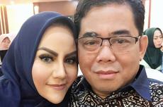 Di Depan Jenazah Nurdin Rudythia, Nita Thalia: Saya Belum Bisa Jadi Istri yang Baik