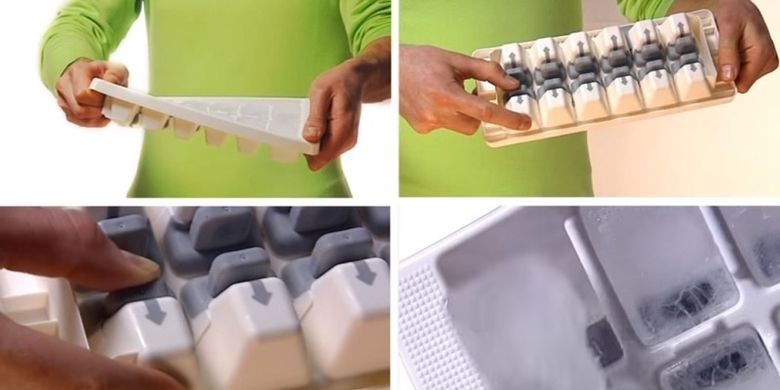 Ice cube tray Joseph Joseph QuickSnap dibuat berdasarkan product design engineering (PDE)