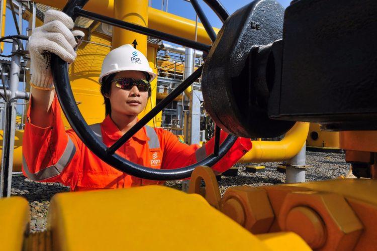 PT Perusahaan Gas Negara Tbk (PGN) memasok kebutuhan gas pabrik Galvanizing, Annealing and Processing Line (GAPL) milik PT Krakatau Nippon Steel Sumikin (KNSS) di Cilegon, Banten yang beroperasi mulai Selasa (7/8/2018)