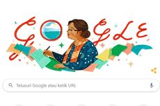 Cara Google Doodle Kenang Ulang Tahun NH Dini, Ini Sosoknya..