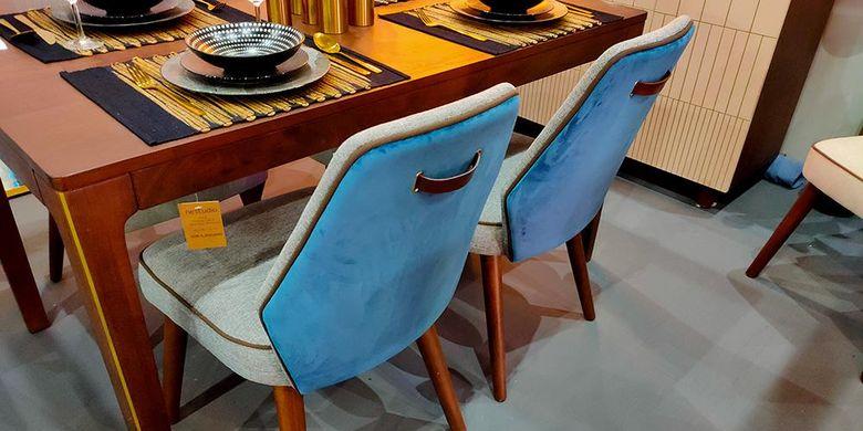 Nestudio memamerkan koleksi terbarunya, Velvety Teal, di ajang Hospitality Indonesia 2019 yang digelar empat hari, 23-26 Oktober 2019, di Jakarta International Expo Kemayoran.