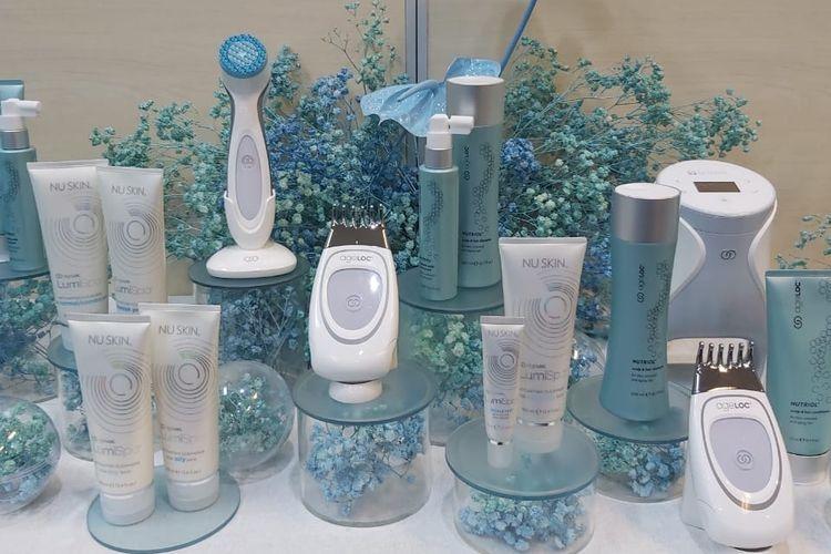 Beragam produk perawatan kulit dan alat kecantikan dari Nu Skin.