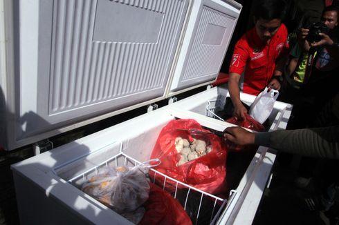 Polisi Bongkar Praktik Pembuatan Bakso Berbahan Daging Babi di Bogor