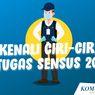 INFOGRAFIK: Kenali Ciri-ciri Petugas Sensus 2020