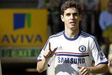 Oscar Gol, Chelsea Sementara Ungguli Norwich