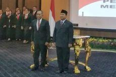 Rampung, Ryamizard Serah Terima Jabatan Menteri Pertahanan ke Prabowo